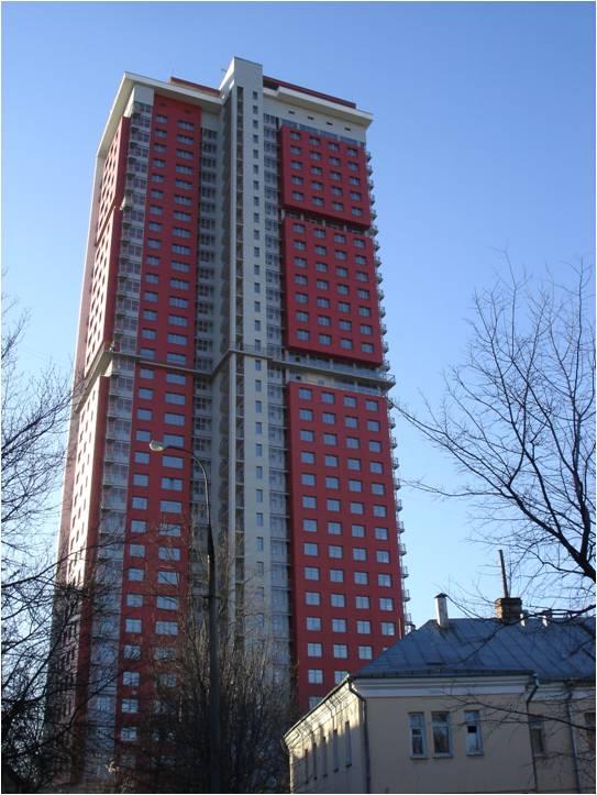 34-х этажный жилой дом, г.Москва, ул. Сельскохозяйственная, крышная котельная мощностью 3,5 МВт